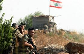 Trigger happy Lebanese soldiers along the Israel border yesterday. Are they anxious to start another war?