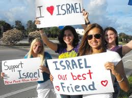 Some Israel supporters from a Project Restoration rally a few months ago