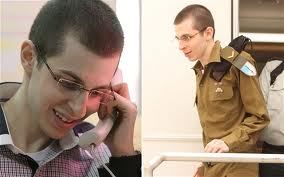 Some of the first pictures of a free Shalit.