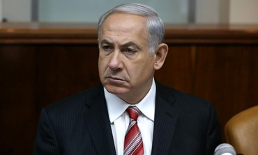 A stern-faced Netanyahu delivered yet another ludicrous dire warning to Palestinian terrorists yesterday.
