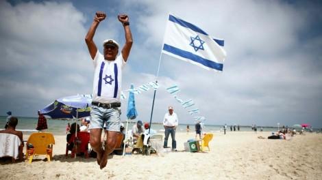 A joyous celebration had by all! (Photo courtesy of Israel Hayom).