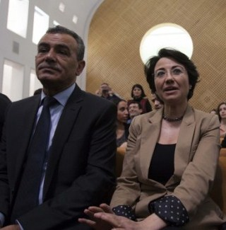 Jamal Z and Haneen Zoabi, two Israeli-Arab members of the Israeli Knesset who continuously urge the destruction of the Jewish state of Israel.