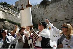 "In your humble servant's opinion, there is no place for ""Women at the Wall"" in the current praying areas of the Kotel (Western Wall)."
