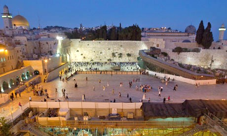 Can you believe that Israel has now given the viciously anti-Israel UNESCO the authority to decide what happens to the Mughrabi Bridge (to the right in this photograph) and to monitor all construction and archaeology at the Western Wall?