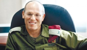 Nitzon Alon: IDF commander of the Central Region who does little to stop Palestinian terrorism in Judea and Samaria--and at the same time releases Palestinian terrorists from prison.