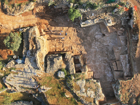 This quarry probably produced stones for the Second Temple.