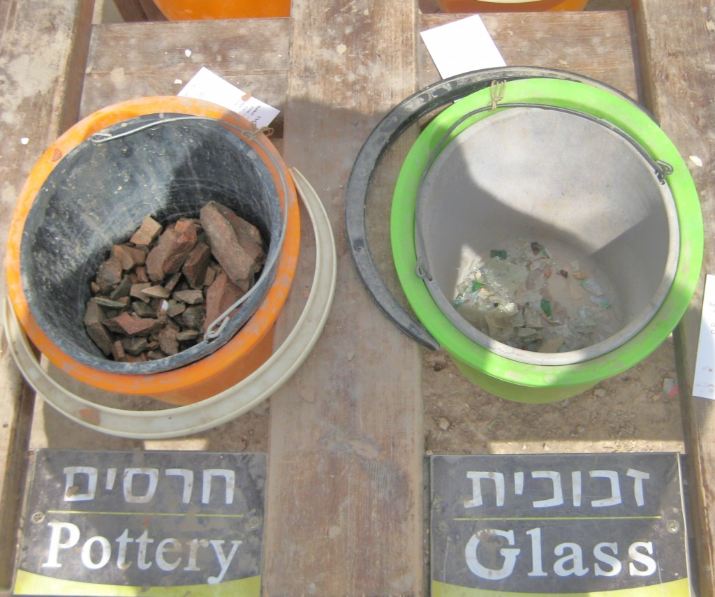 Two of the eight divisions of materials found.