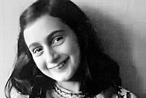 Anne Frank, murdered in Bergen Belsen, in March 1945.
