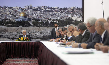 "The PLO meeting late last night to reject the latest ""peace"" proposals."