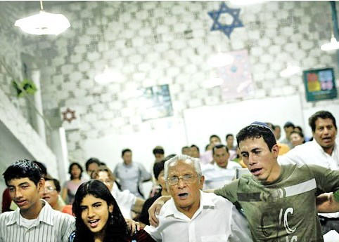 Jews in Iquitos, Peru: soon to be new Israeli citizens!