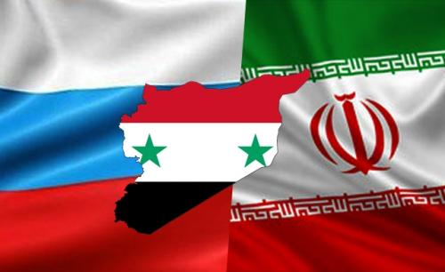 The Russian flag flies high this morning especially over it Syrian and Iranian clients.