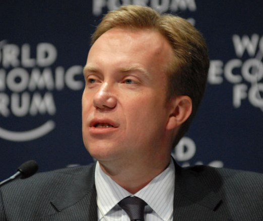 Norwegian FM Borge Brende: the arrogant and hypocritical face of Norway (picture source: euronews).