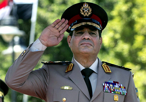 Whatever else you want to say about Egyptian General Al-Sisi, he is a man who is unafraid to act on his beliefs  (picture: leaksource).