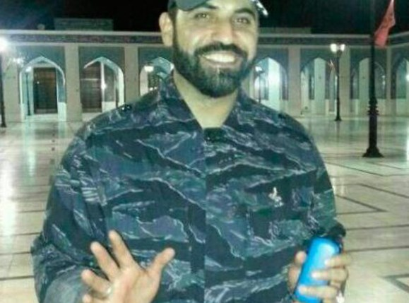 Hezbollah commander Ali Shabeeb, now supposedly smiling in heaven with his 72 virgins (photo: southlebanon.org).