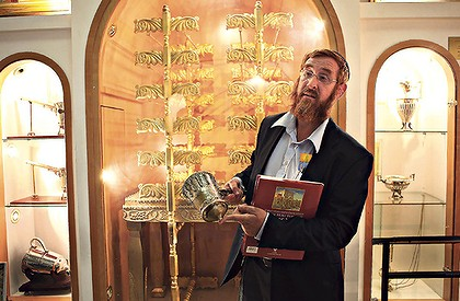 Rabbi Yehuda Glick, the former director of the Temple Mount Institute (picture source: joelstrumpet).