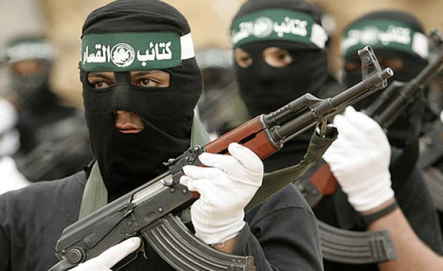 The Qassam Brigades on parade (picture source: el arabiya).