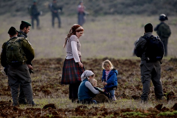 The typical scene at Esh Kodesh. What exactly is the IDF's role? (picture: vcstar.com).