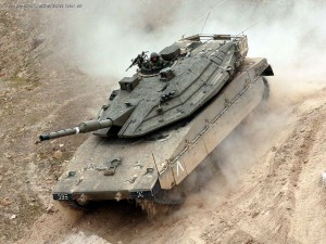 The Merkava MK 4--one of the most advanced tanks in the world (picture: supervideo).