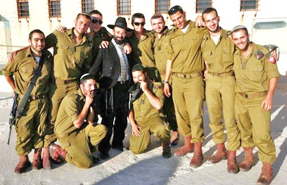 Part of a platoon of the Nezach Yehudi (picture: Ynet).