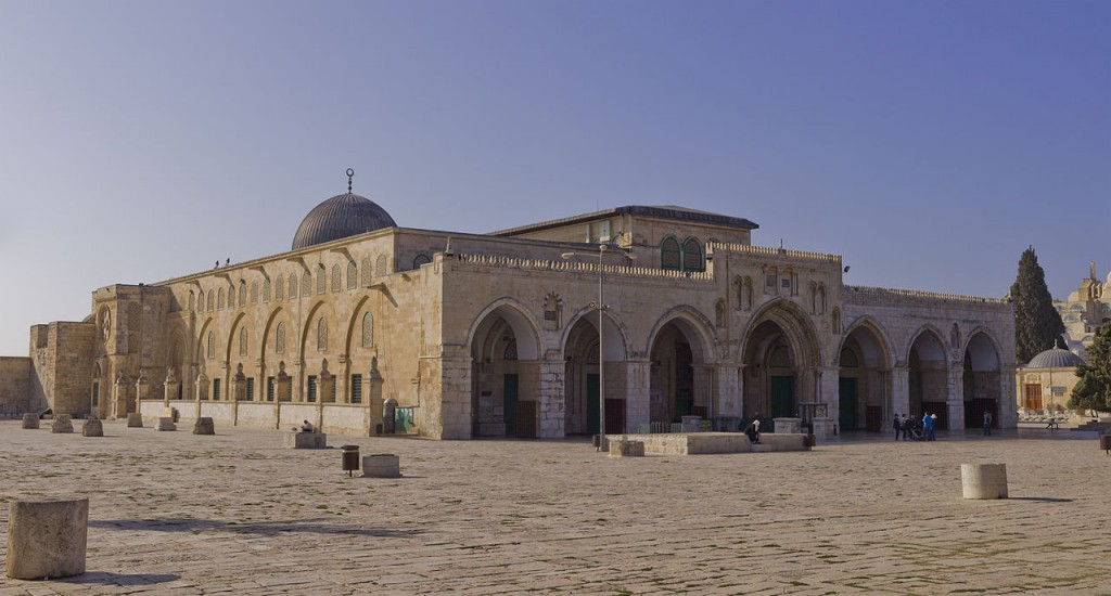 Lest anyone forget--including the Jerusalem Police and the Jordanian government--the Al-Aksa Mosque is on sovereign Israeli territory.