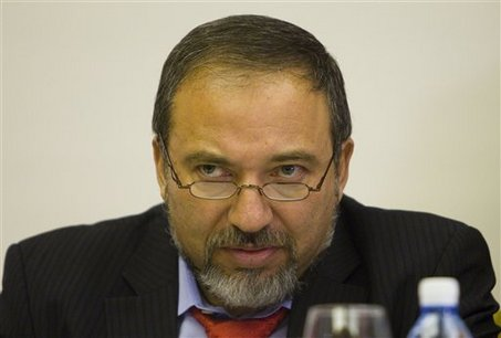 FM Avigdor Lieberman: the new power behind the scenes (picture: clevelandnews).