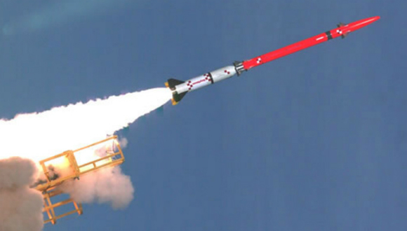 "Israel's ""Magic Wand"" missile interceptor--now put on hold for lack of funds."
