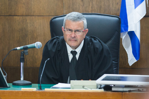 Judge David Rosen--a no nonsense jurist who issued a scathing speech while sentencing Olmert (picture: Ynet).