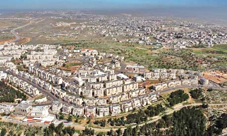 The Ramat Shlomo neighborhood near the municipal boundaries of Jerusalem (photo: theguardian).