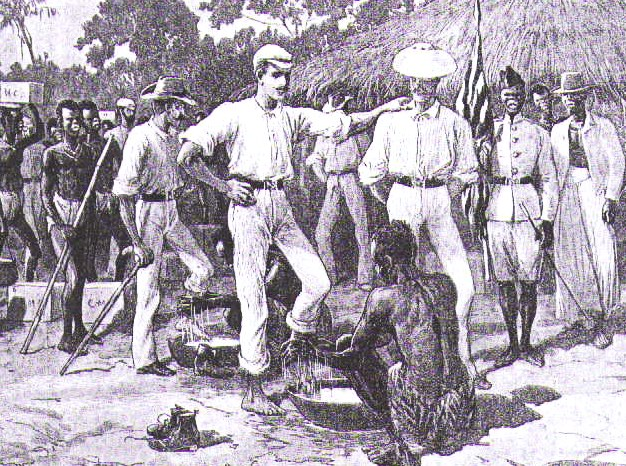 British colonialism arrives in Benin.