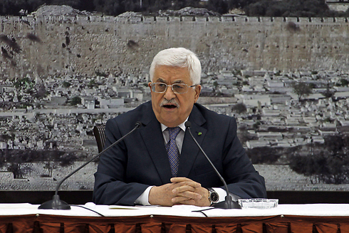 "Once a hater of Jews, always a hater of Jews: Israel's ""partner for peace"" Mahmoud Abbas in Ramallah (photo:EPA)."