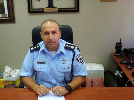 Senior Police Commander of the Temple Mount: Avi Biton.