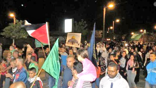 Who would have thought that marchers in Israel would march down a street waving Hamas flags?