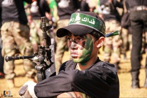 Hamas is busy indoctrinating the next generation of Palestinian young people to hate Israel.