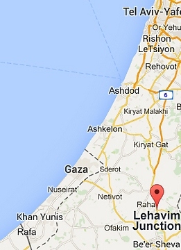 The location of the accident (picture: google).