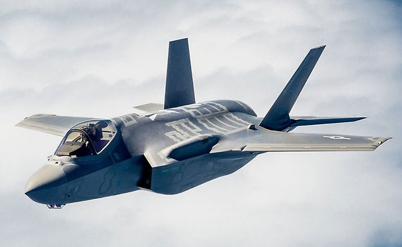 The F-35 Stealth Fighter.