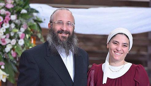 Rabbi Michael (Miki) Mark and his wife Chana.