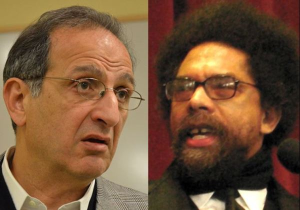 James Zogby and Cornel West, birds of an anti-Israel feather.