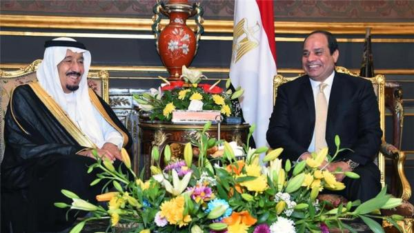 King Salman (left) with President Sisi in Cairo in April.