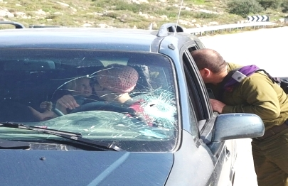 After the attack, the mother regained control of the car and managed to get to an IDF checkpoint.
