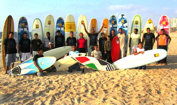 A humanitarian crisis in Gaza? The Gaza Surf Club.
