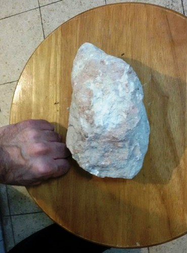 """The """"rock""""."""