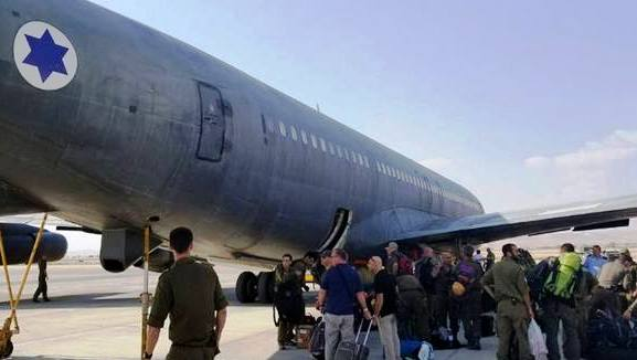 The IDF contingent arrives in Mexico City (photo IDF facebook).