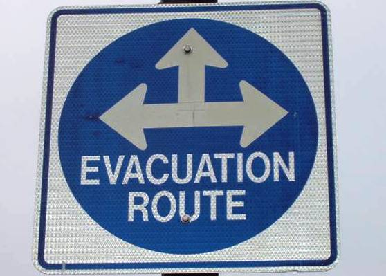 Which way should Israelis evacuate? Apparently in every direction.