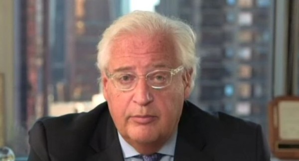 U.S. Ambassador David Friedman. After remaining quiet for a number of months, Friedman is fortunately back to telling it like it is (picture: Times of Israel).