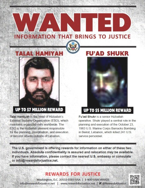 It is long past time for these two terrorists to be eliminated.