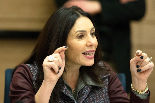 Former IDF General Miri Regev, now Israel's Culture and Sports Minister. Apparently, she is the only one in the government unafraid to tell it like it is.