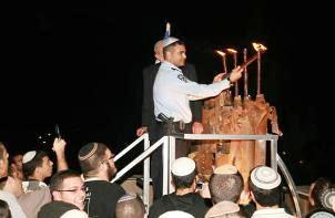 Incoming missiles will not deter the residents of Sderot from celebrating Chanukah.