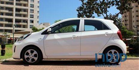 """The KIA Picanto (picture source on picture: car company """"Centro"""")."""