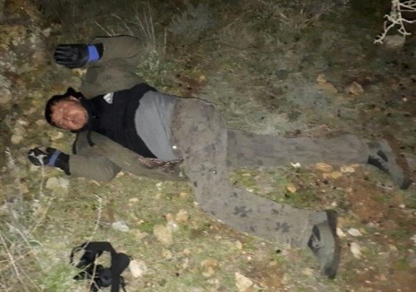 The terrorist captured at Itamar last night.