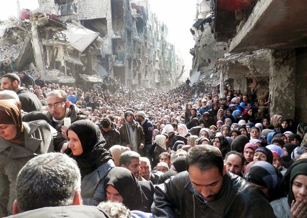 Aleppo, 4 years ago: this is what a real humanitarian crisis looks like.